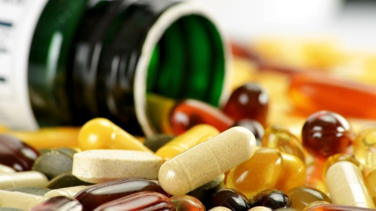 keep vitamins & supplements