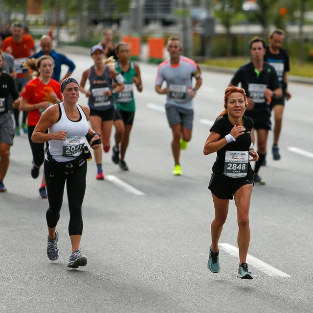 Running further for the first marathon